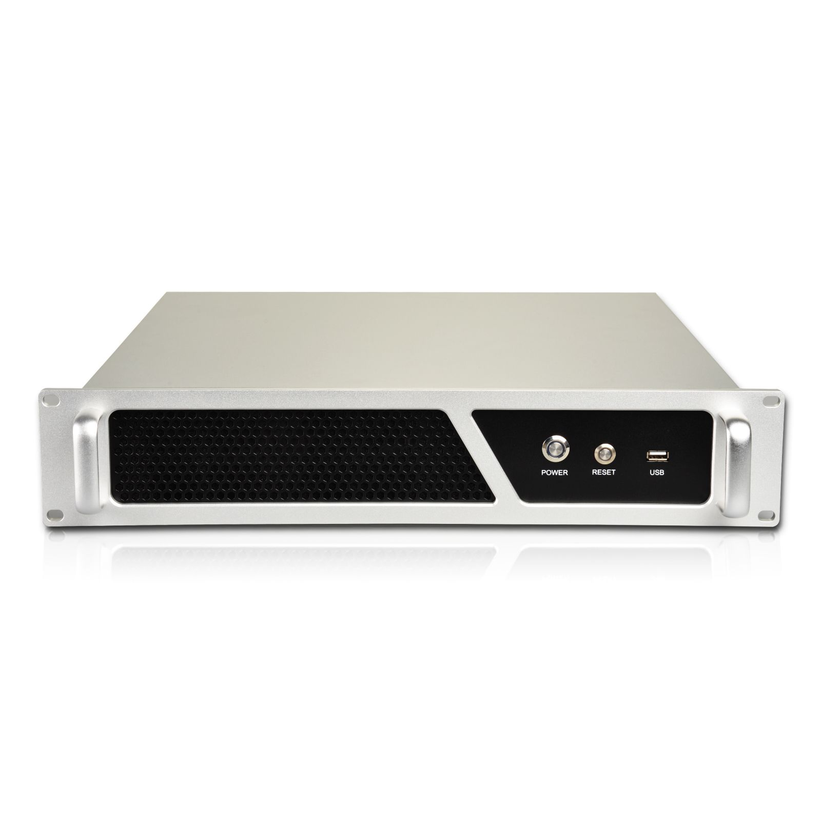 Q-238X  2U rackmount chassis Silver
